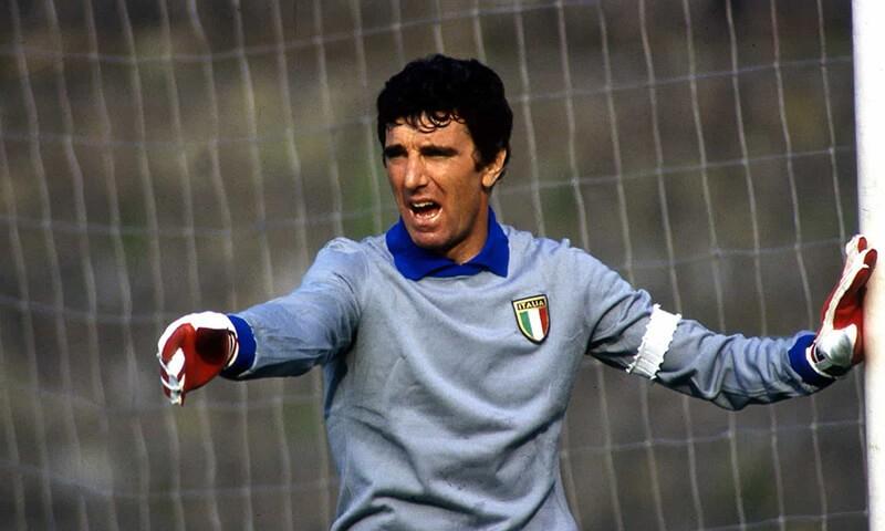 Дино Дзофф в сборной Италии.
