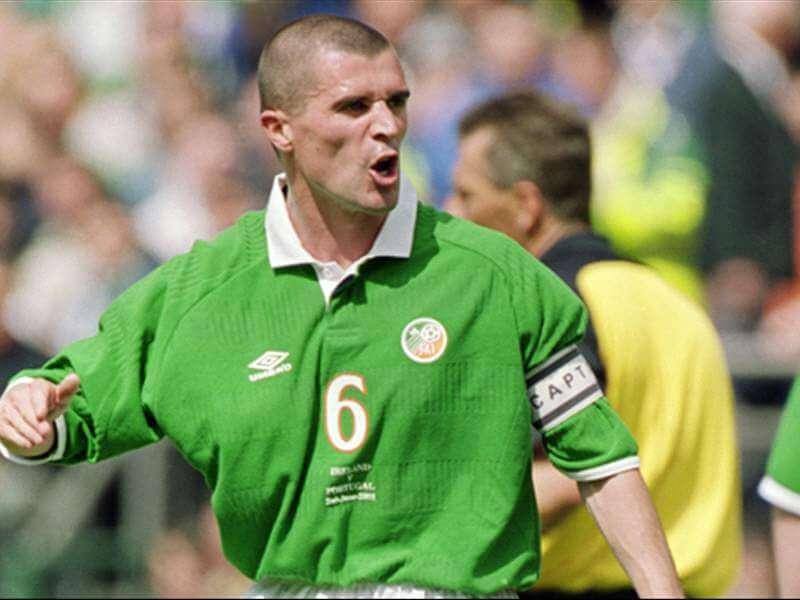 Рой Кин в сборной Ирландии.