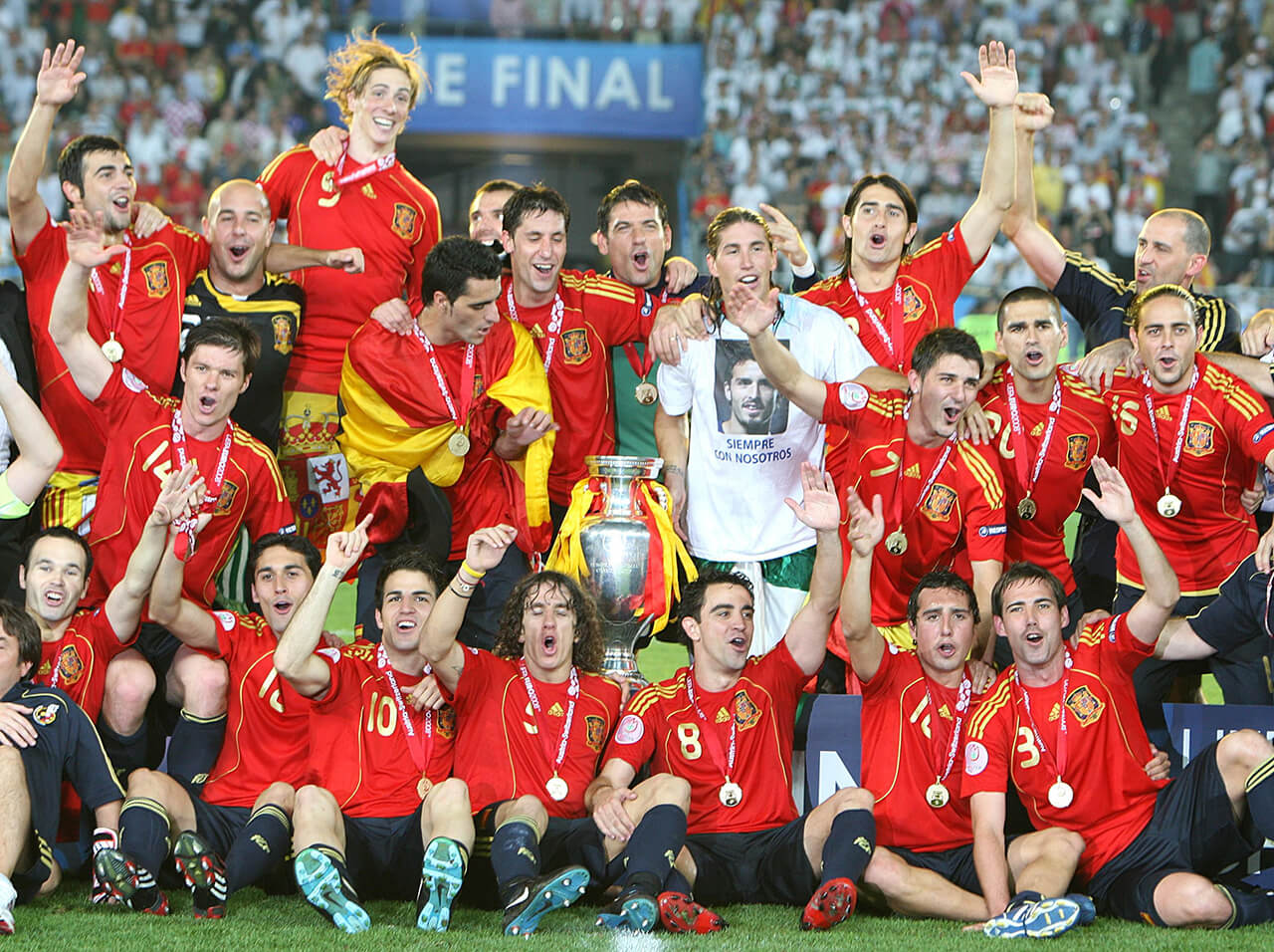 Чемпионы Евро 2008.