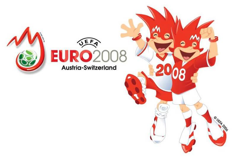 Евро 2008 по футболу: лого.