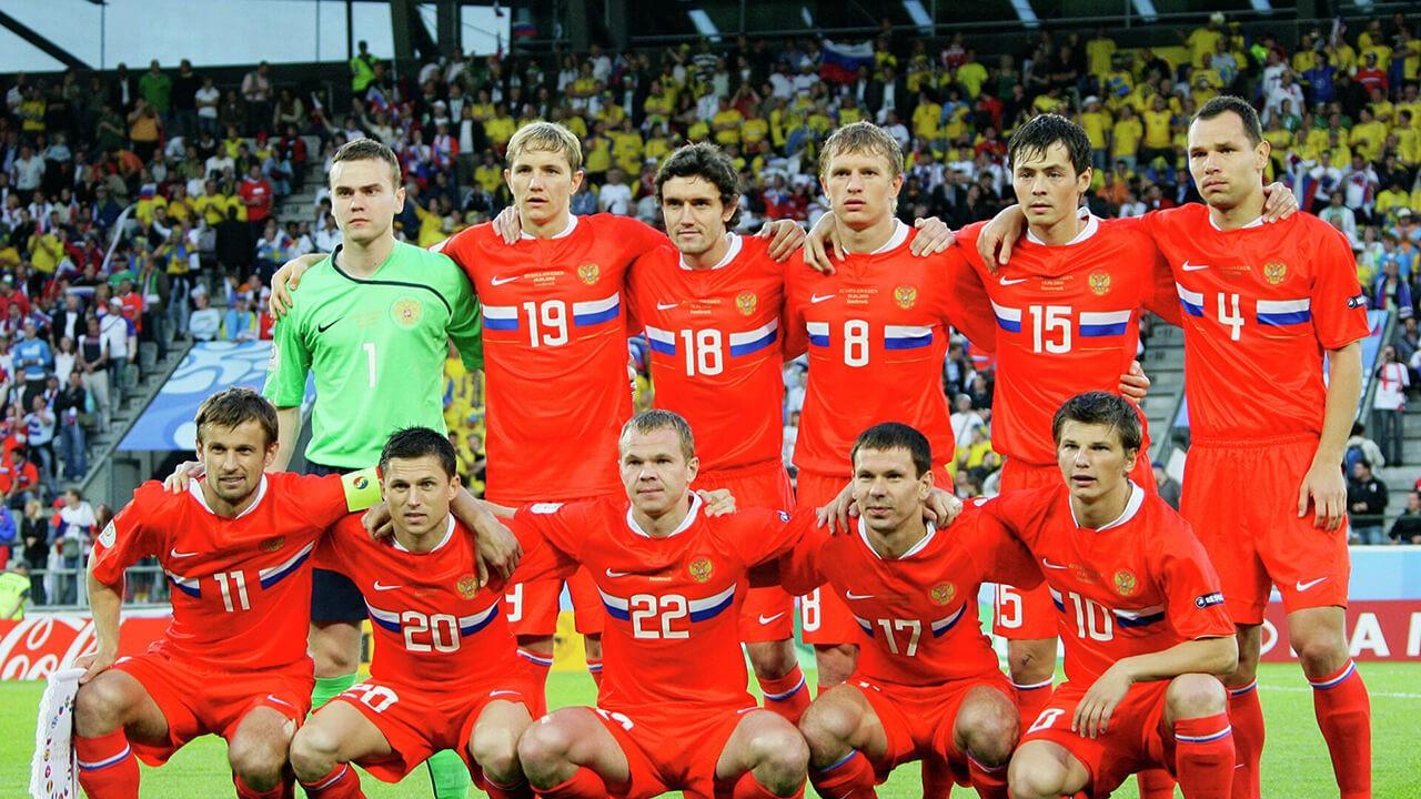 Евро 2008: сборная России.