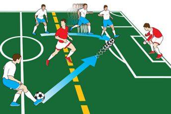 Офсайд в футболе.