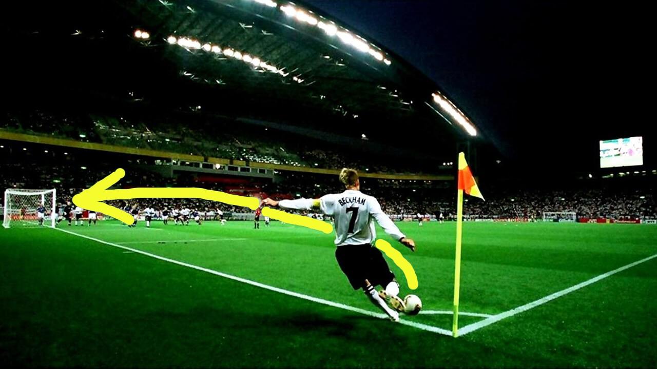 Сухой лист в футболе.