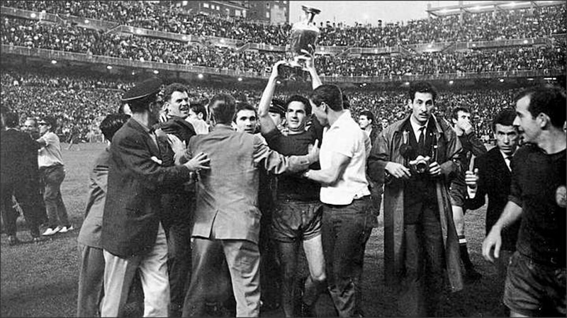 Чемпионы Европы по футболу 1964 года.
