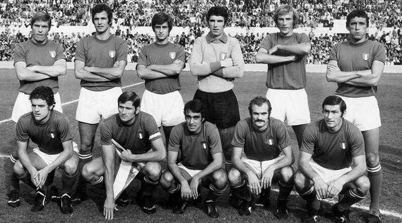 Чемпионы Европы по футболу 1968 года.