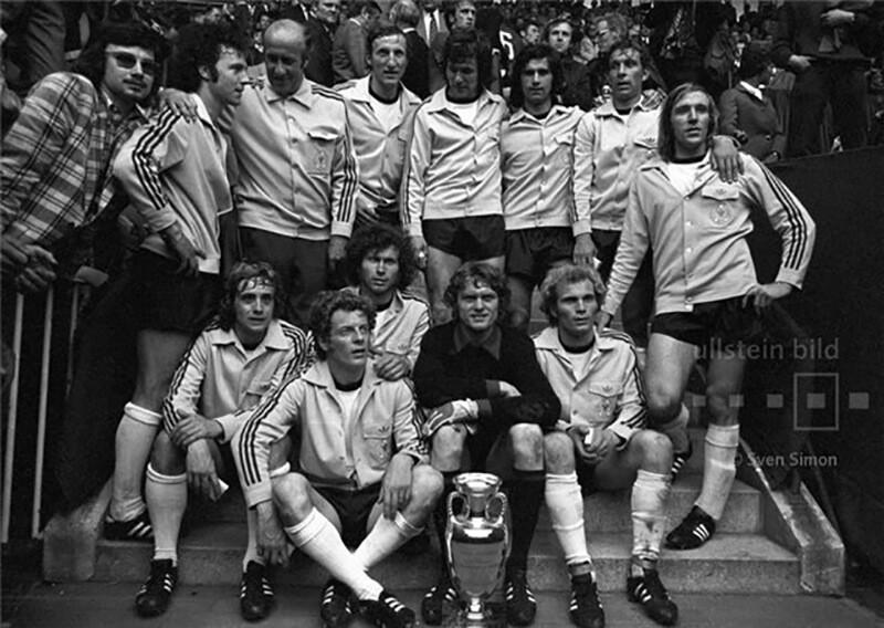 Чемпионы Европы по футболу 1972 года.