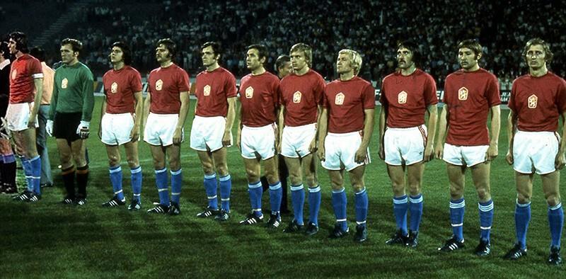 Чемпионы Европы по футболу 1976 года.