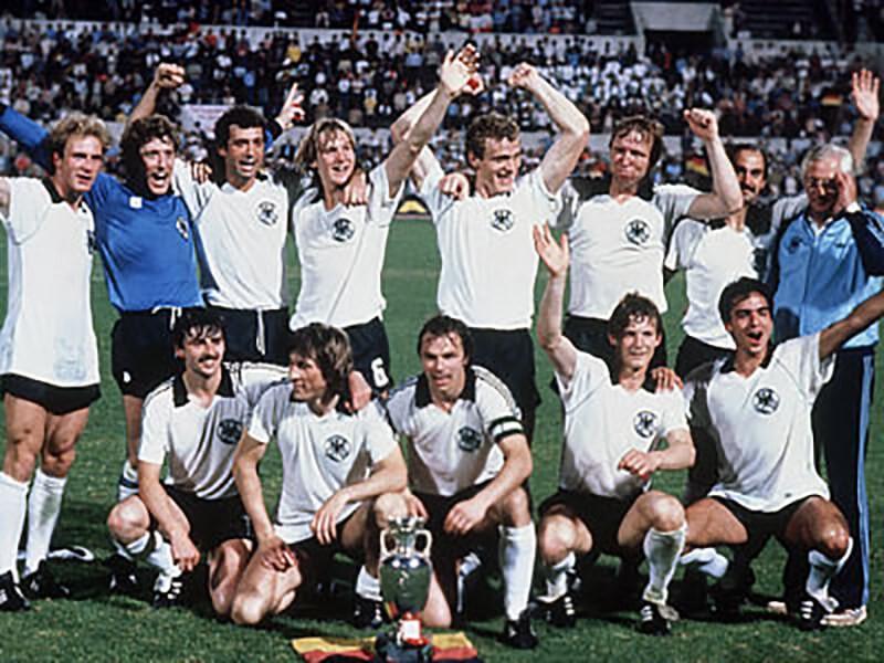 Чемпионы Европы по футболу 1980 года.