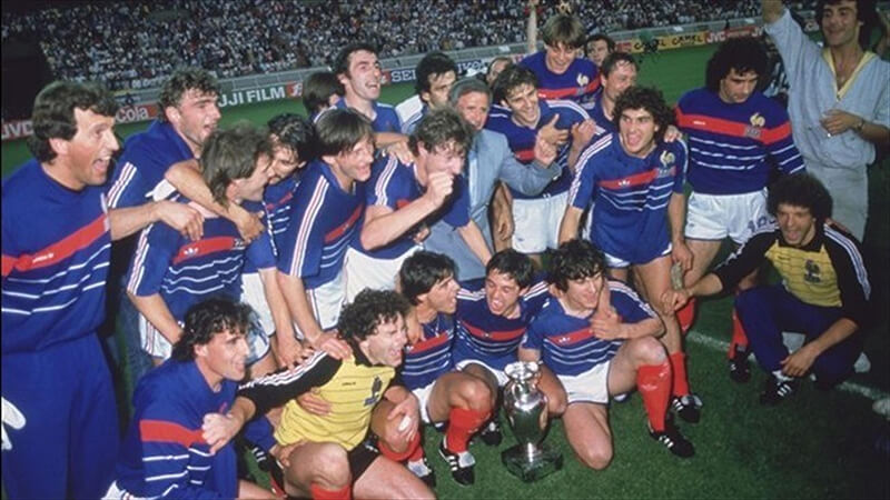Чемпионы Европы по футболу 1984 года.