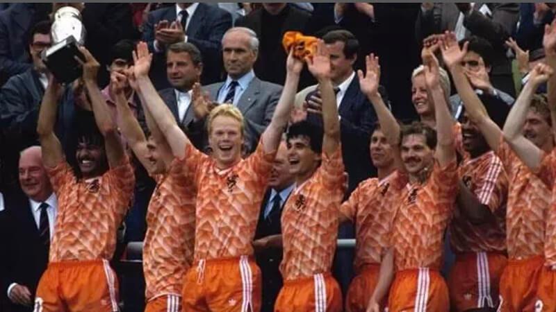 Чемпионы Европы по футболу 1988 года.