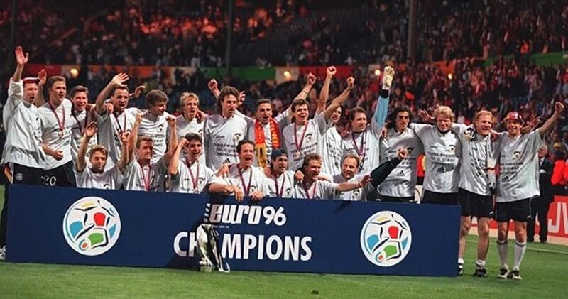 Чемпионы Европы по футболу 1996 года.