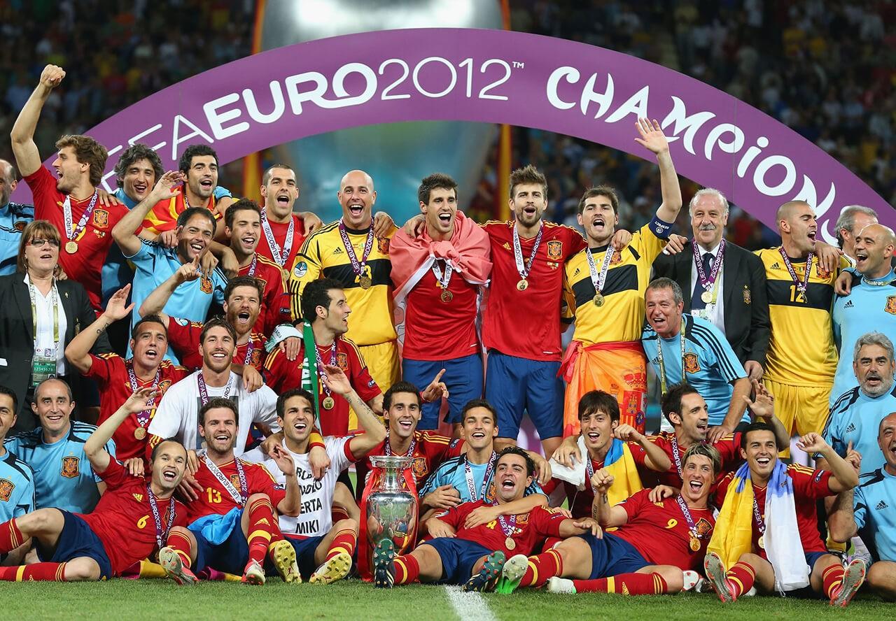 Чемпионы Европы по футболу 2012 года.