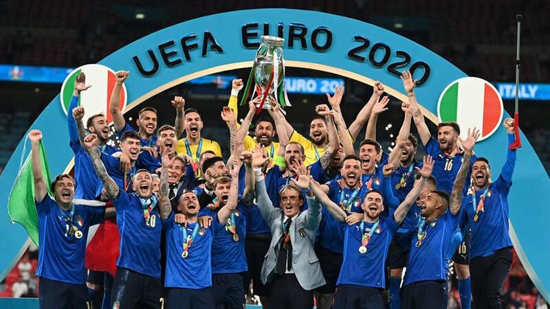 Чемпионы Европы по футболу 2020 года.