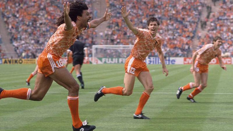 Евро 1988 по футболу: фото.