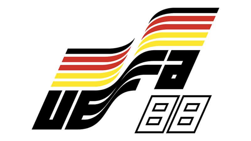 Евро 1988 по футболу: логотип.