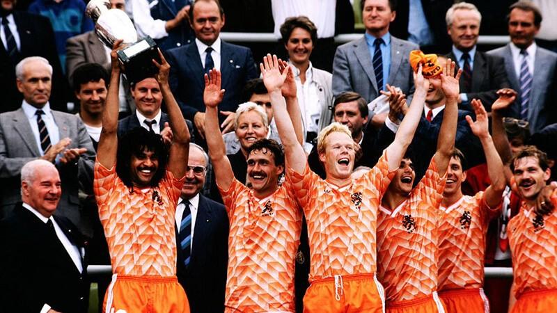 Евро 1988 по футболу: победители.