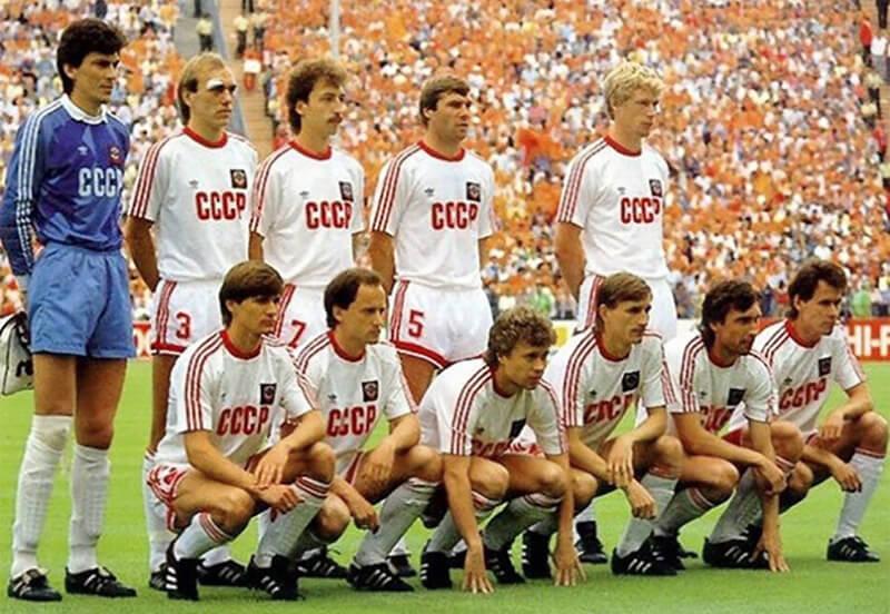 Состав сборной СССР 1988.